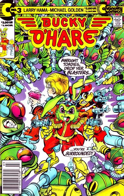 Cover for Bucky O'Hare (Continuity, 1991 series) #3 [Direct]