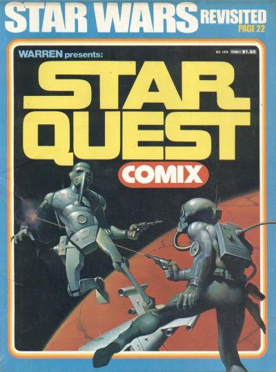 Cover for Warren Presents: Star Quest Comix (Warren, 1978 series)