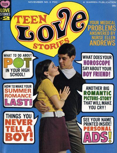 Cover for Teen Love Stories (Warren, 1967 series) #2