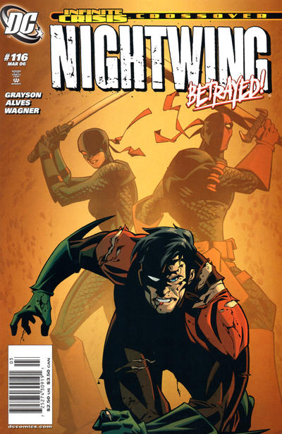 Cover for Nightwing (DC, 1996 series) #116 [Newsstand Edition]