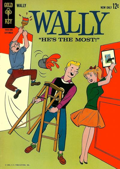 Cover for Wally (Western, 1962 series) #4