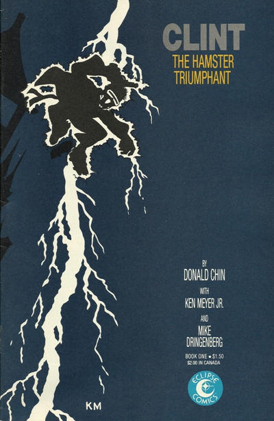 Cover for Clint (Eclipse, 1986 series) #1