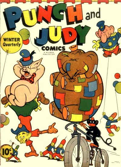 Cover for Punch and Judy Comics (Hillman, 1944 series) #v1#3