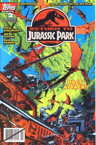 Cover for Return to Jurassic Park (Topps, 1995 series) #2