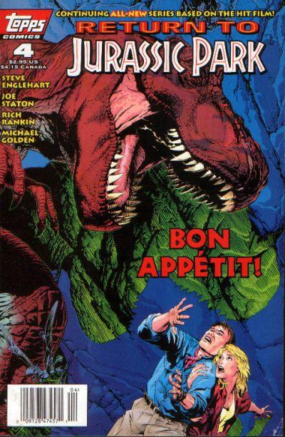 Cover for Return to Jurassic Park (Topps, 1995 series) #4