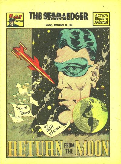 Cover for The Spirit (Register and Tribune Syndicate, 1940 series) #9/28/1952