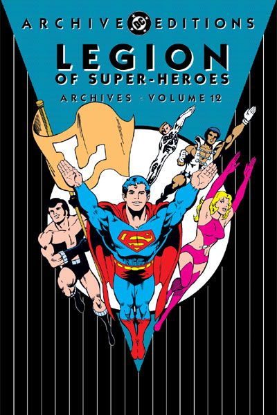 Cover for The Legion of Super-Heroes Archives (DC, 1991 series) #12