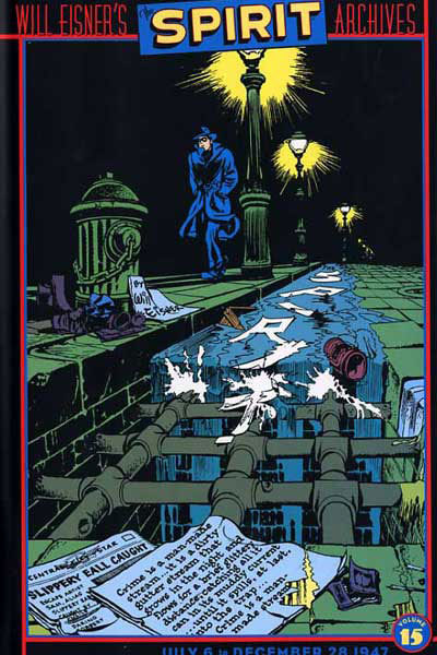 Cover for Will Eisner's The Spirit Archives (DC, 2000 series) #15