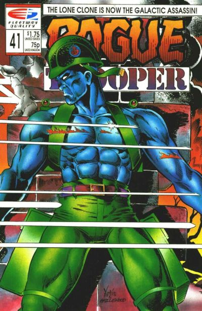 Cover for Rogue Trooper (Fleetway/Quality, 1987 series) #41