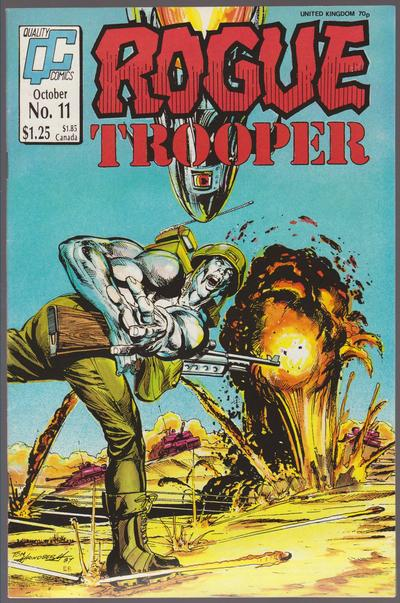 Cover for Rogue Trooper (Fleetway/Quality, 1987 series) #11