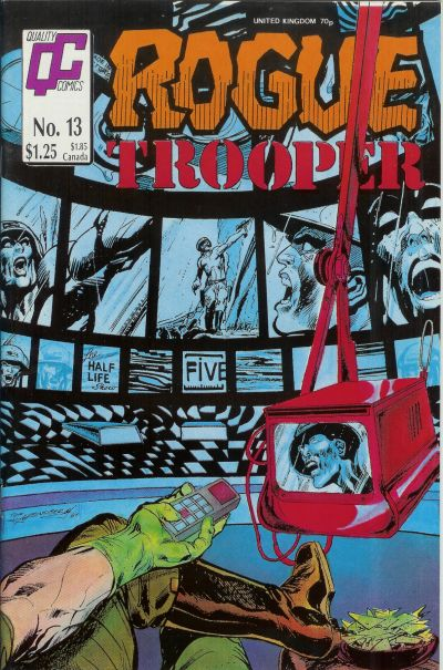 Cover for Rogue Trooper (Fleetway/Quality, 1987 series) #13
