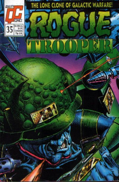 Cover for Rogue Trooper (Fleetway/Quality, 1987 series) #35