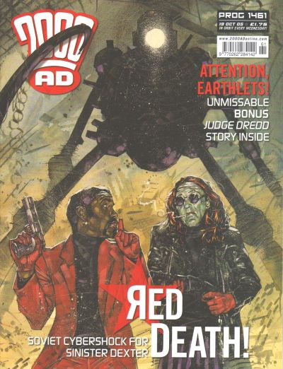Cover for 2000 AD (Rebellion, 2001 series) #1461