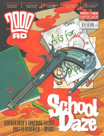 Cover for 2000 AD (Rebellion, 2001 series) #1462
