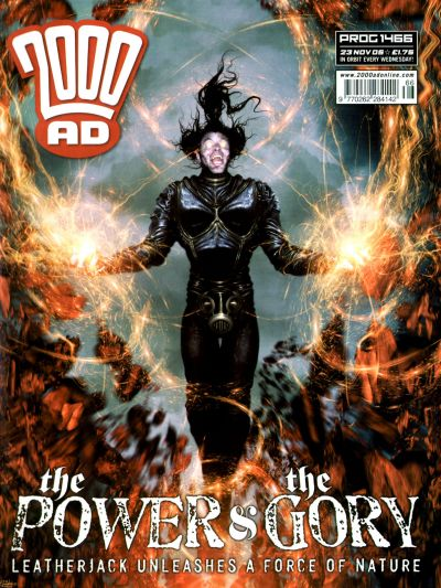 Cover for 2000 AD (Rebellion, 2001 series) #1466