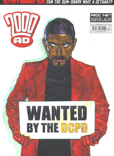 Cover for 2000 AD (Rebellion, 2001 series) #1467