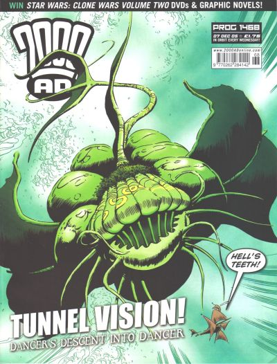 Cover for 2000 AD (Rebellion, 2001 series) #1468
