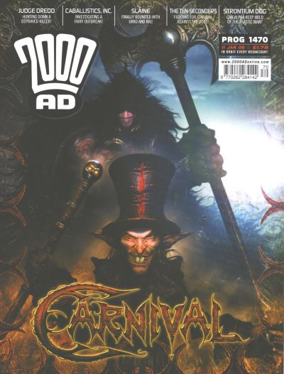 Cover for 2000 AD (Rebellion, 2001 series) #1470