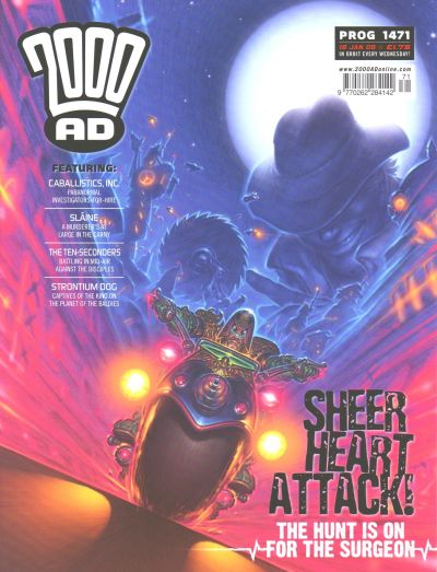 Cover for 2000 AD (Rebellion, 2001 series) #1471