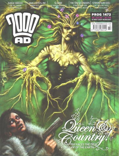 Cover for 2000 AD (Rebellion, 2001 series) #1472