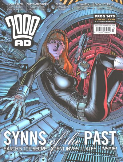 Cover for 2000 AD (Rebellion, 2001 series) #1473