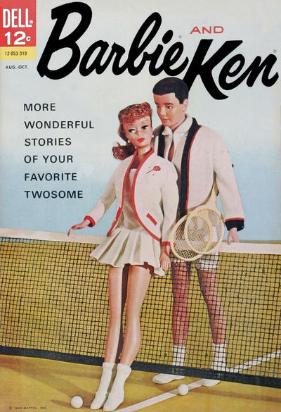Cover for Barbie and Ken (Dell, 1962 series) #4