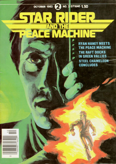 Cover for Star Rider and the Peace Machine (Star Rider Productions Ltd., 1982 series) #2
