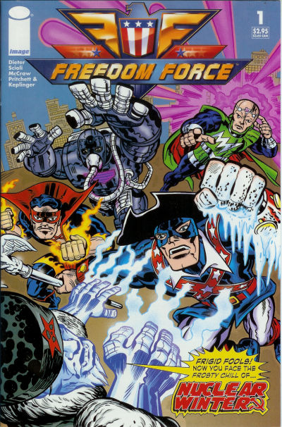 Cover for Freedom Force (Image, 2005 series) #1