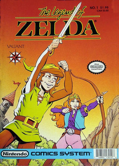Cover for Link: The Legend of Zelda (Acclaim / Valiant, 1990 series) #1