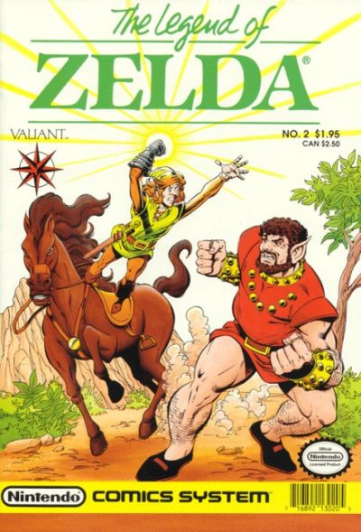 Cover for Link: The Legend of Zelda (Acclaim / Valiant, 1990 series) #2