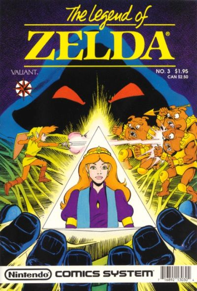 Cover for Link: The Legend of Zelda (Acclaim / Valiant, 1990 series) #3