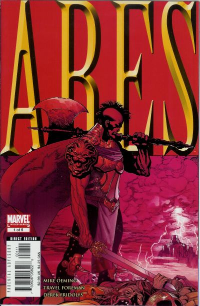 Cover for Ares (Marvel, 2006 series) #1