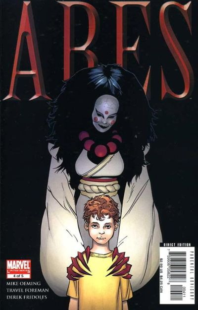 Cover for Ares (Marvel, 2006 series) #4