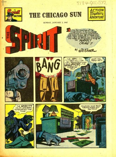 Cover for The Spirit (Register and Tribune Syndicate, 1940 series) #1/5/1947