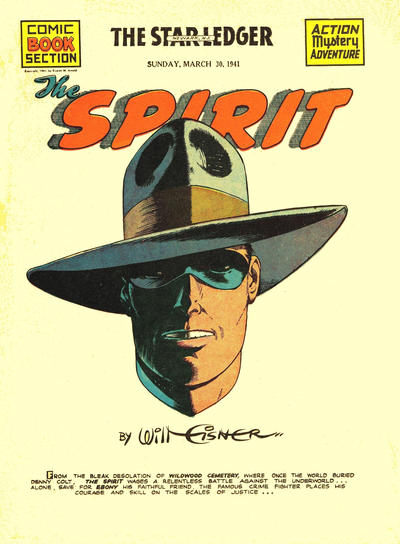 Cover for The Spirit (Register and Tribune Syndicate, 1940 series) #3/30/1941
