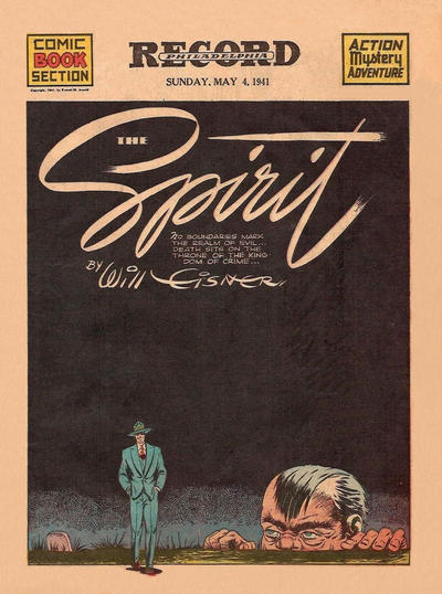 Cover for The Spirit (Register and Tribune Syndicate, 1940 series) #5/4/1941 [Baltimore Sun edition]