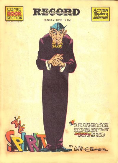 Cover for The Spirit (Register and Tribune Syndicate, 1940 series) #6/15/1941