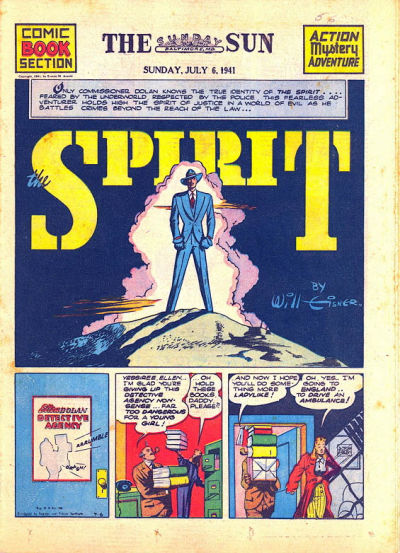 Cover for The Spirit (Register and Tribune Syndicate, 1940 series) #7/6/1941