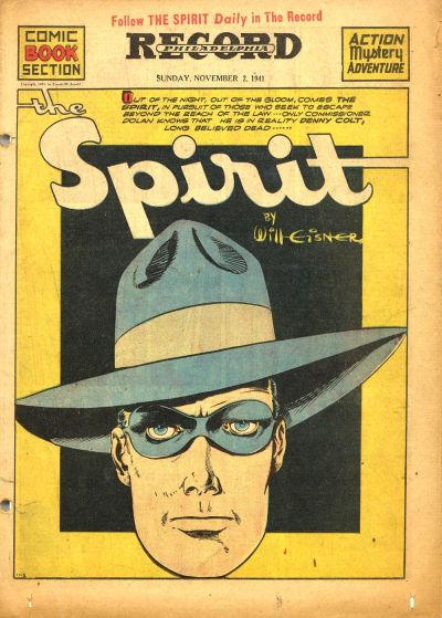 Cover for The Spirit (Register and Tribune Syndicate, 1940 series) #11/2/1941