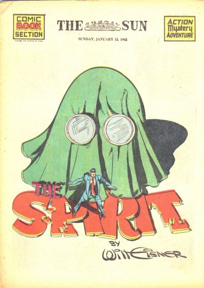 Cover for The Spirit (Register and Tribune Syndicate, 1940 series) #1/18/1942