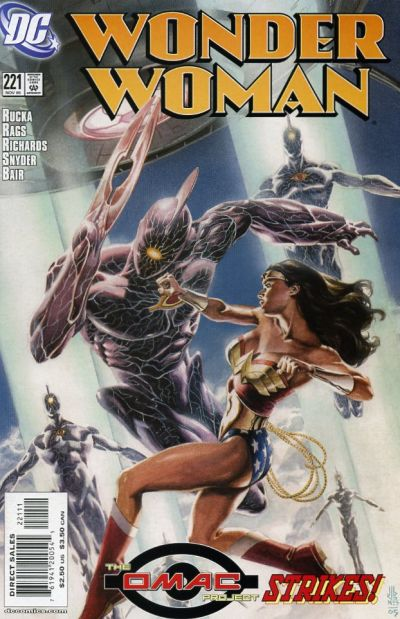 Cover for Wonder Woman (DC, 1987 series) #221