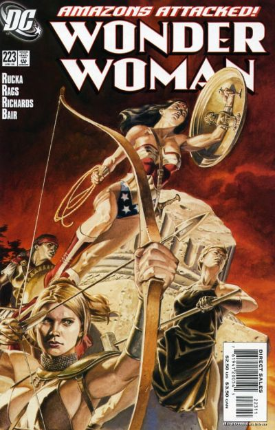 Cover for Wonder Woman (DC, 1987 series) #223