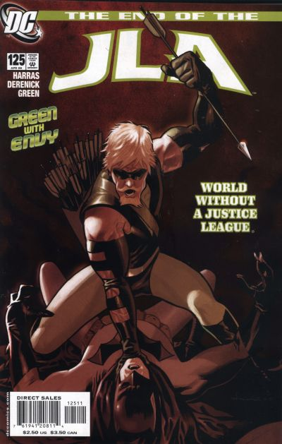 Cover for JLA (DC, 1997 series) #125