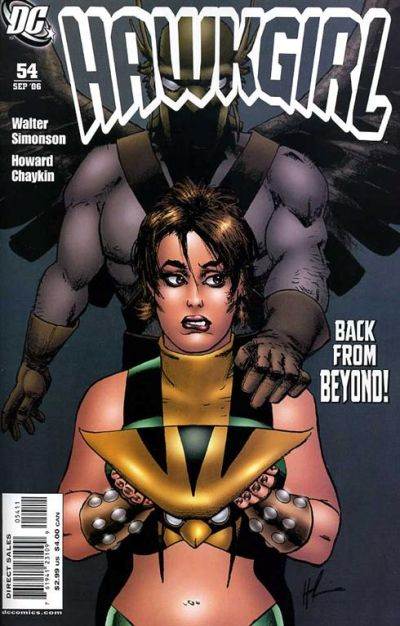 Cover for Hawkgirl (DC, 2006 series) #54