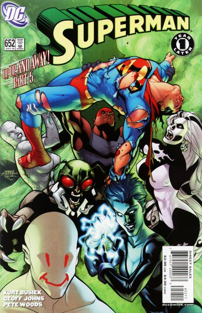 Cover for Superman (DC, 2006 series) #652