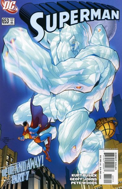 Cover for Superman (DC, 2006 series) #653