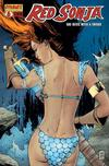 Cover for Red Sonja (Dynamite Entertainment, 2005 series) #6 [Guiseppe Camuncoli Retailer Incentive Cover (1 in 7)]