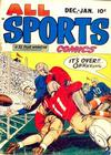Cover for All Sports Comics (Hillman, 1948 series) #v1#2