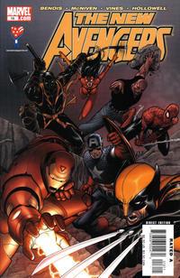 Cover Thumbnail for New Avengers (Marvel, 2005 series) #16