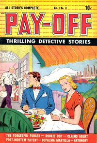 Cover Thumbnail for Pay-Off (D.S. Publishing, 1948 series) #v1#3